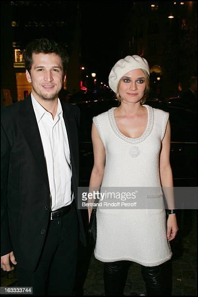 Diane Kruger and Guillaume Canet at the Paris Premiere Of Joyeux Noel At L'Ugc Normandie Du Film