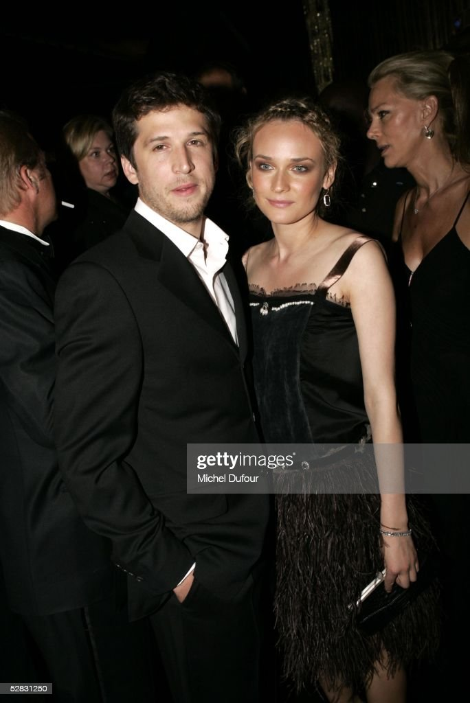 Diane Kruger and Guillaume Canet attend the Ceremony of the Chopard Trophy Awards at the Carlton Hotel on May 11, 2005 in Cannes, France. The Chopard Trophy is a promotional award that is given to young actors.