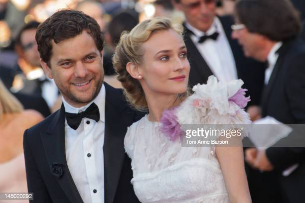 Diane Kruger and Joshua Jackson attend Killing Them Softly Premiere at Palais des Festivals on May 22 2012 in Cannes France