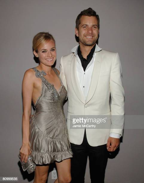 Diane Kruger and Joshua Jackson attend the Nina Ricci After Party For Met Ball Hosted By Olivier Theyskens and Lauren Santo Domingo at Philippe in...