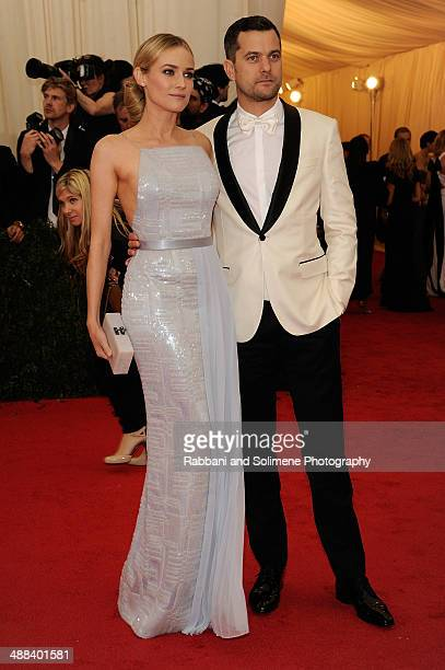 "Diane Kruger and Joshua Jackson attends the ""Charles James: Beyond Fashion"" Costume Institute Gala>> at the Metropolitan Museum of Art on May 5, 2014..."