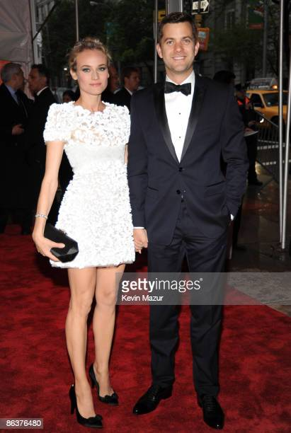 """Diane Kruger and Joshua Jackson attends """"The Model as Muse: Embodying Fashion"""" Costume Institute Gala at The Metropolitan Museum of Art on May 4,..."""
