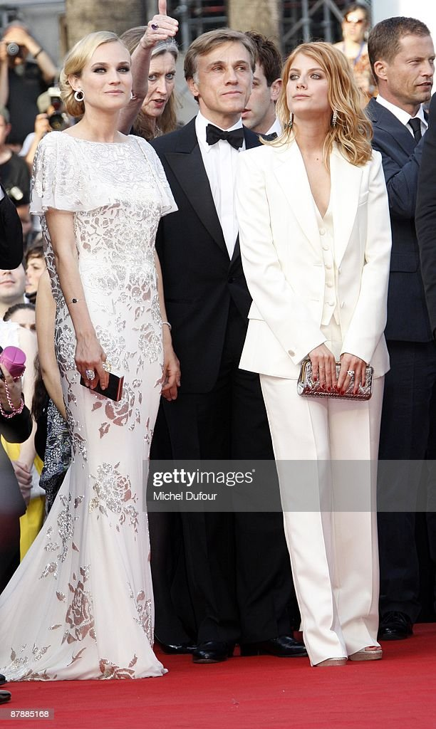 Diane Kruger and Melanie Laurent attend the Inglourious Basterds premiere held at the Palais Des Festivals during the 62nd International Cannes Film Festival on May 20, 2009 in Cannes, France.