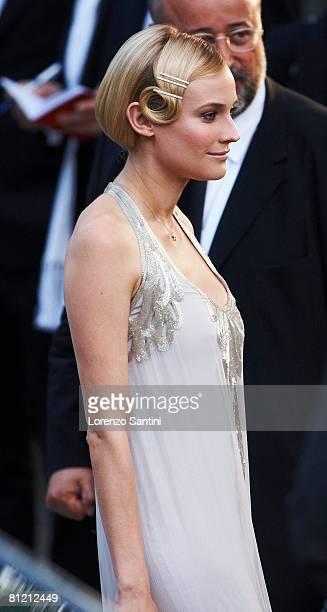 Diane Kruger arrives at amfAR's Cinema Against AIDS 2008 benefit held at Le Moulin de Mougins during the 61st International Cannes Film Festival on...