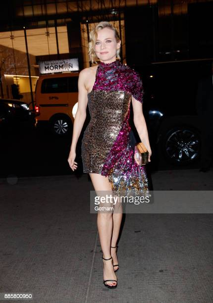 Diane Kruger arrives at MOMA for a screening on December 4 2017 in New York City