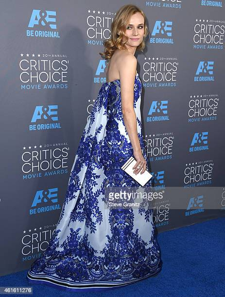Diane Kruger arrives at the 20th Annual Critics' Choice Movie Awards at Hollywood Palladium on January 15, 2015 in Los Angeles, California.