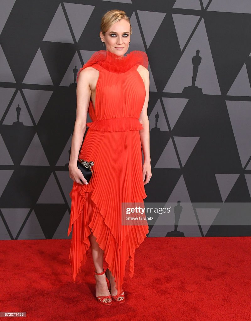 Diane Kruger arrives at the Academy Of Motion Picture Arts And Sciences' 9th Annual Governors Awards at The Ray Dolby Ballroom at Hollywood & Highland Center on November 11, 2017 in Hollywood, California.