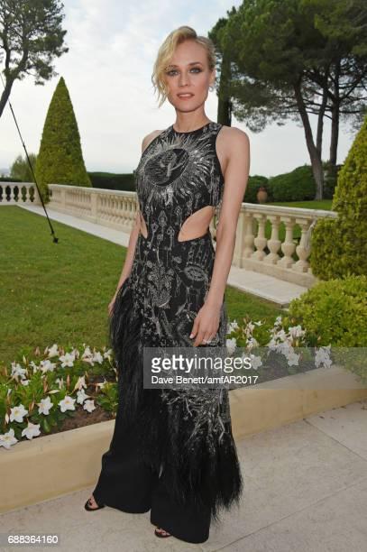 Diane Kruger arrives at the amfAR Gala Cannes 2017 at Hotel du CapEdenRoc on May 25 2017 in Cap d'Antibes France