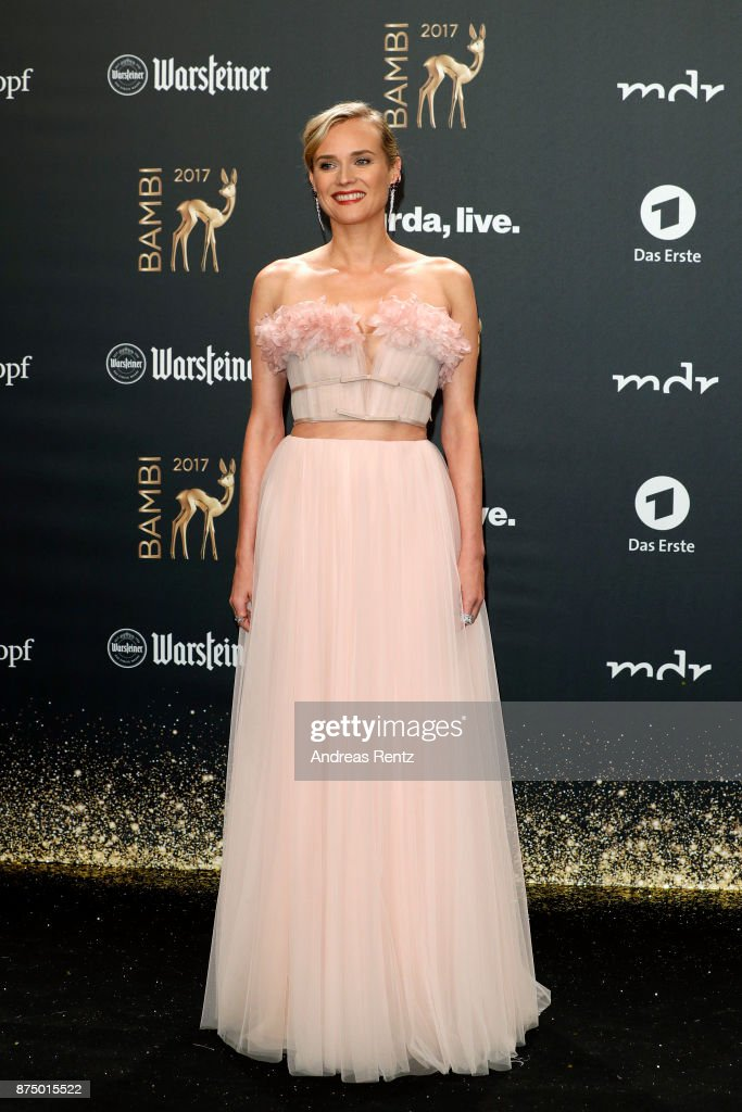 Diane Kruger arrives at the Bambi Awards 2017 at Stage Theater on November 16, 2017 in Berlin, Germany.