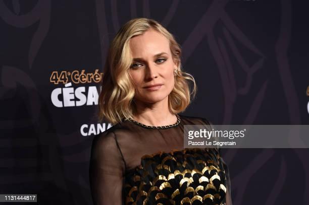 Diane Kruger arrives at the Cesar Film Awards 2019 at Salle Pleyel on February 22 2019 in Paris France