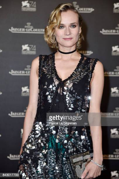 Diane Kruger arrives for the Jaeger-LeCoultre Gala Dinner during the 74th Venice International Film Festival at Arsenale on September 5, 2017 in...