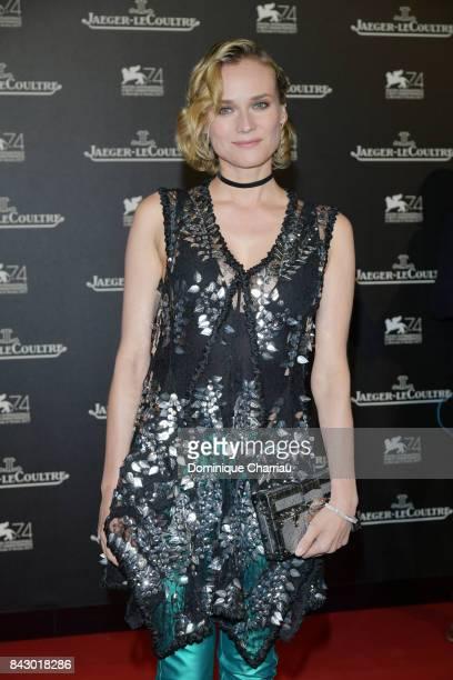 Diane Kruger arrives for the JaegerLeCoultre Gala Dinner during the 74th Venice International Film Festival at Arsenale on September 5 2017 in Venice...