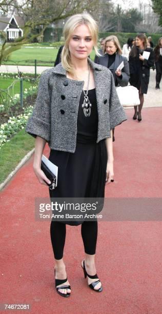 Diane Kruger at the Paris in Paris, France.
