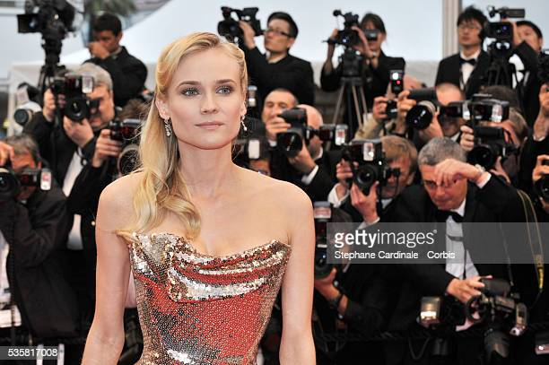 """Diane Kruger at the premiere for """"Amour"""" during the 65th Cannes International Film Festival."""