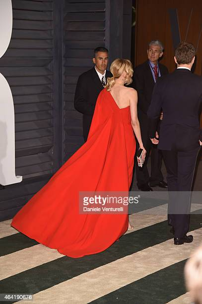 Diane Kruger attends 2015 Vanity Fair Oscar Party Hosted By Graydon Carter at Wallis Annenberg Center for the Performing Arts on February 22 2015 in...