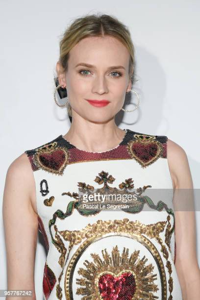 Diane Kruger attends a Dior dinner during the 71st annual Cannes Film Festival at JW Marriott on May 12, 2018 in Cannes, France.