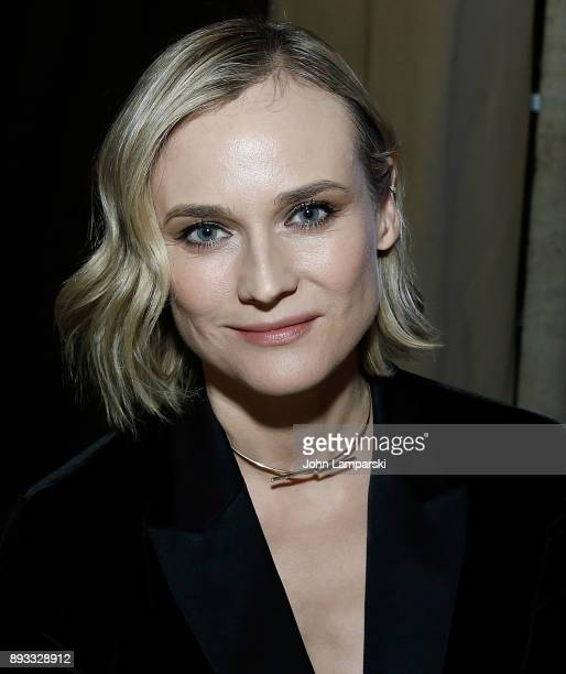 Diane Kruger attends ACRIA's 22nd annual holiday dinner at Cipriani 25 Broadway on December 14 2017 in New York City