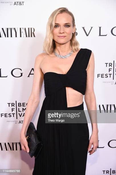 "Diane Kruger attends BVLGARI World Premiere Of ""Celestial"" And ""The Fourth Wave"" at Spring Studios on April 23, 2019 in New York City."