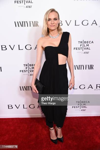 Diane Kruger attends BVLGARI World Premiere Of Celestial And The Fourth Wave at Spring Studios on April 23 2019 in New York City