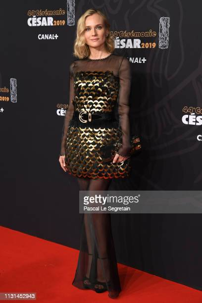 Diane Kruger attends Cesar Film Awards 2019 at Salle Pleyel on February 22, 2019 in Paris, France.