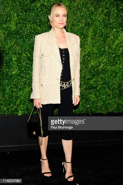 Diane Kruger attends Chanel Hosts The 2019 Tribeca Film Festival Artist's Dinner at Balthazar NYC on April 29 2019 in New York City