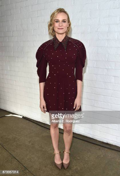 Diane Kruger attends 'Indie Contenders Roundtable' at AFI FEST 2017 Presented By Audi at Hollywood Roosevelt Hotel on November 12 2017 in Hollywood...