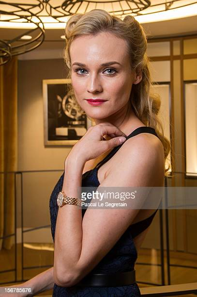 Diane Kruger attends JaegerLeCoultre Vendome Boutique Opening at JaegerLeCoultre Boutique on November 20 2012 in Paris France