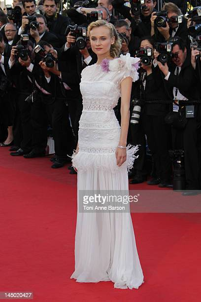 Diane Kruger attends 'Killing Them Softly' Premiere at Palais des Festivals on May 22 2012 in Cannes France