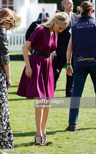 Diane Kruger attends Rock The Polo: The Cartier International Polo Day at Guards Polo Club on July 29, 2007 in Windsor, England.