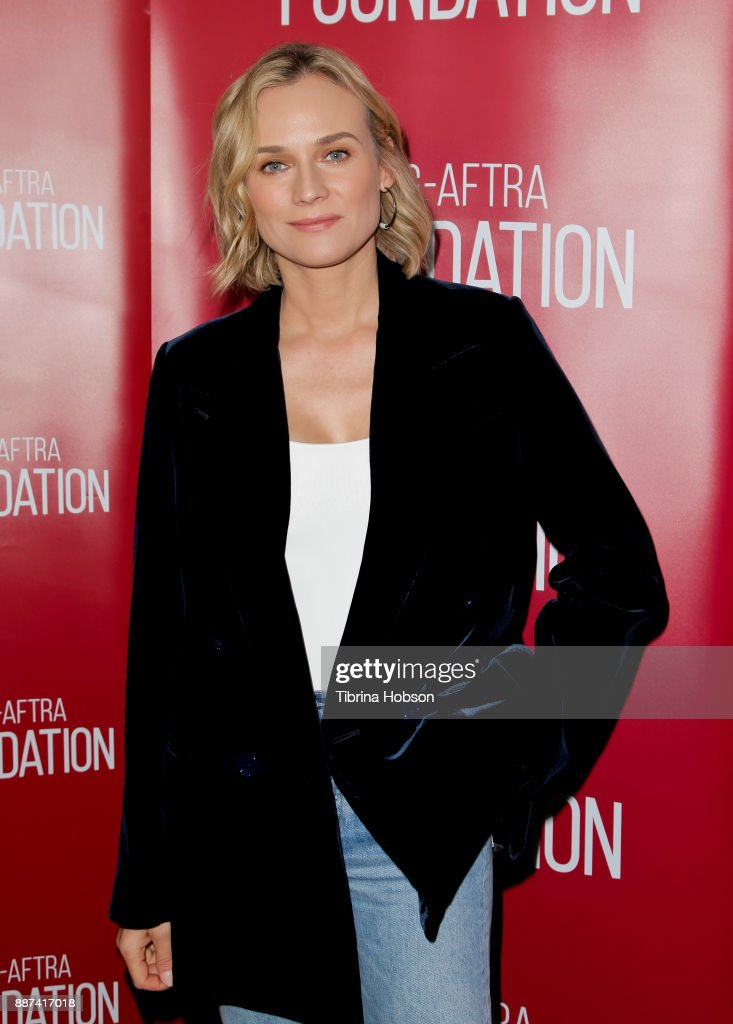 Diane Kruger attends SAG-AFTRA Foundation's conversations and screening of 'In The Fade' at SAG-AFTRA Foundation screening room on December 6, 2017 in Los Angeles, California.
