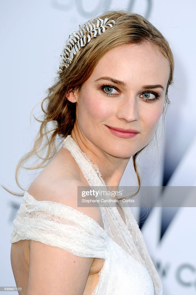 Diane Kruger attends the '2010 amfAR's Cinema Against AIDS' Gala.