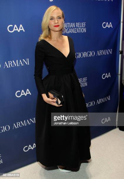 Diane Kruger attends the 3rd annual Sean Penn Friends HELP HAITI HOME Gala benefiting J/P HRO presented by Giorgio Armani at Montage Beverly Hills on...