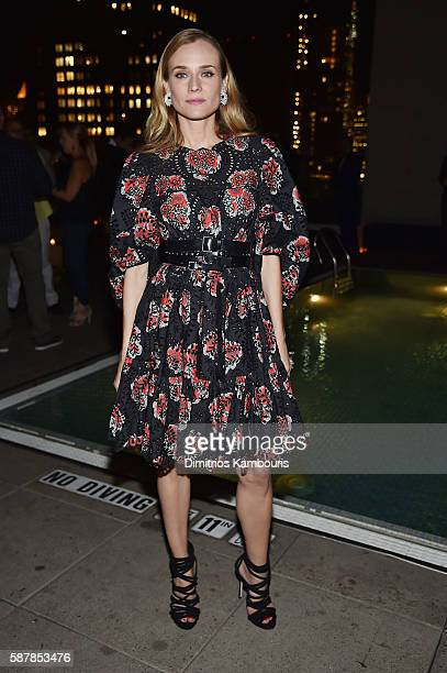 Diane Kruger attends the after party for the screening of IFC Films' 'Disorder' hosted by The Cinema Society Chopard with Line 39 and Qui at The...
