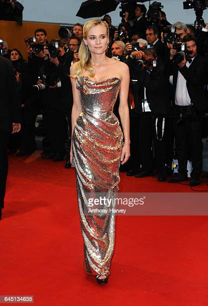 Diane Kruger attends the Amour Premiere during the 65th Annual Cannes Film Festival at Palais des Festivals on May 20, 2012 in Cannes, France.