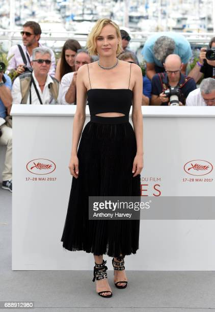 Diane Kruger attends the 'Aus Dem Nichts ' Photocall during the 70th annual Cannes Film Festival at Palais des Festivals on May 26 2017 in Cannes...