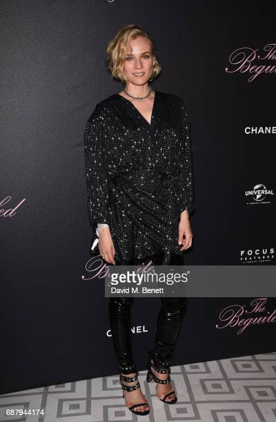 Diane Kruger attends The Beguiled private party hosted by Focus Features and Universal Pictures International in collaboration with Chanel at La...