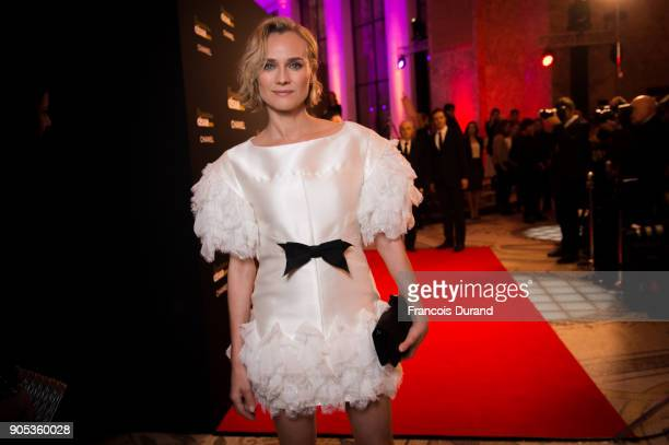 Diane Kruger attends the 'Cesar Revelations 2018' party at Le Petit Palais on January 15 2018 in Paris France