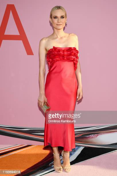Diane Kruger attends the CFDA Fashion Awards at the Brooklyn Museum of Art on June 03 2019 in New York City