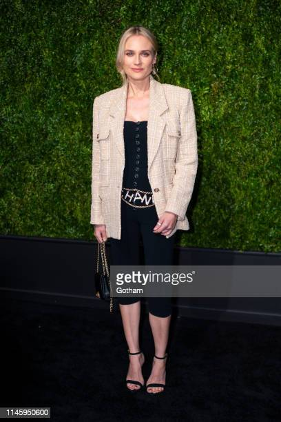 Diane Kruger attends the Chanel 14th Annual Tribeca Film Festival Artists Dinner at Balthazar on April 29, 2019 in New York City.