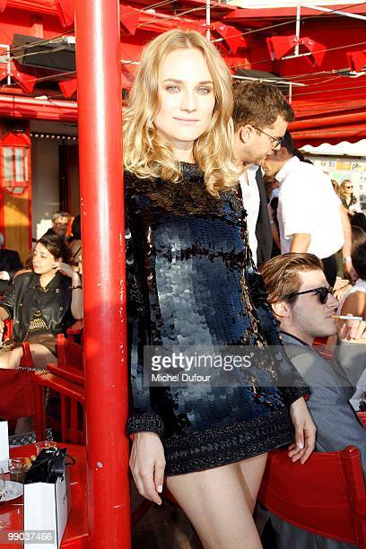 Diane Kruger attends the Chanel Cruise Collection Presentation on May 11 2010 in SaintTropez France