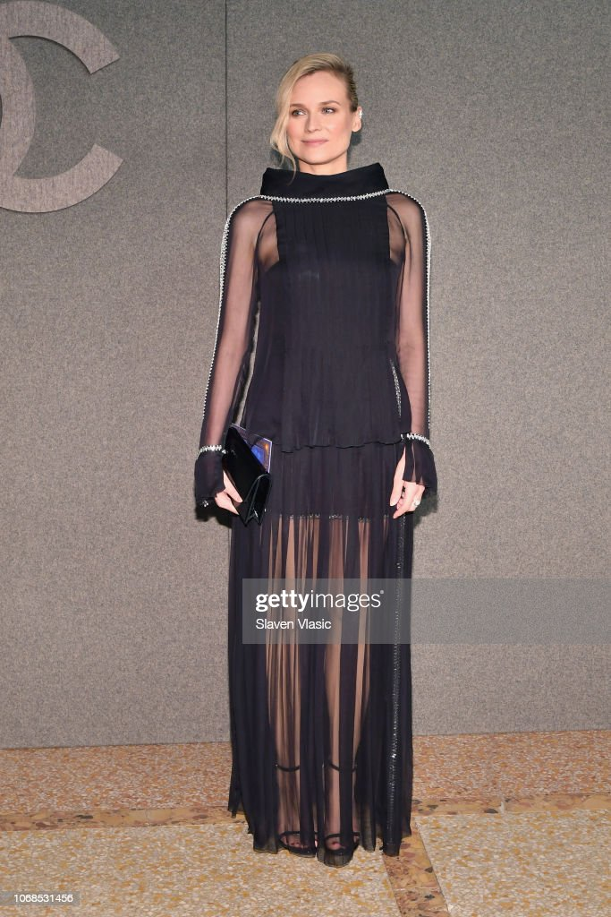 880dbd68e11 Diane Kruger attends the CHANEL Metiers d Art 2018 19 Show at The ...