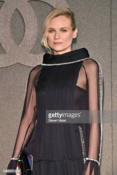 Diane Kruger attends the CHANEL Metiers d'Art 2018/19 Show at The Metropolitan Museum of Art on December 4 2018 in New York City