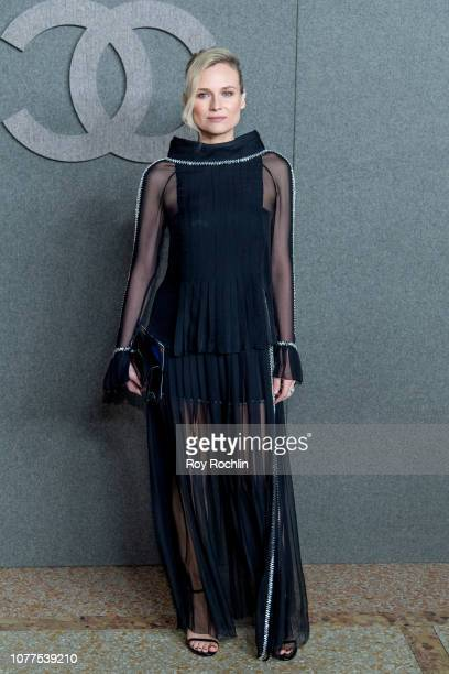 Diane Kruger attends the Chanel Metiers D'Art 2018/19 Show at The Metropolitan Museum of Art on December 04 2018 in New York City