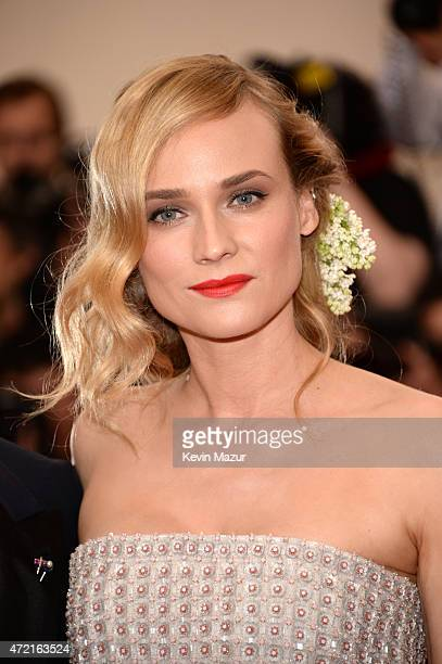 "Diane Kruger attends the ""China: Through The Looking Glass"" Costume Institute Benefit Gala at Metropolitan Museum of Art on May 4, 2015 in New York..."