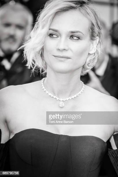 Diane Kruger attends the Closing Ceremony during the 70th annual Cannes Film Festival at Palais des Festivals on May 28 2017 in Cannes France