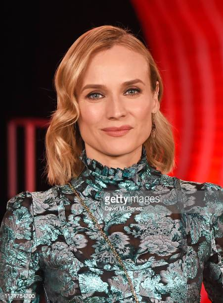 Diane Kruger attends the European Premiere of IT Chapter Two at The Vaults Waterloo on September 02 2019 in London England