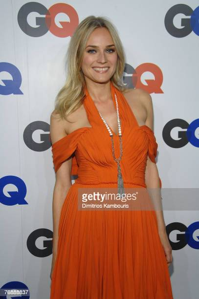 Diane Kruger attends the GQ Magazine 50th Anniversary Party at Cedar Lake on September 18, 2007 in New York City