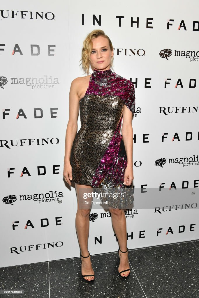 Diane Kruger attends the 'In the Fade' New York Premiere at the Museum of Modern Art on December 4, 2017 in New York City.