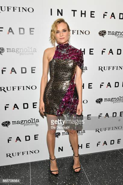 Diane Kruger attends the 'In the Fade' New York Premiere at the Museum of Modern Art on December 4 2017 in New York City