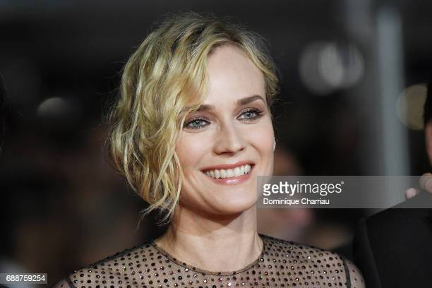 Diane Kruger attends the 'In The Fade ' screening during the 70th annual Cannes Film Festival at Palais des Festivals on May 26 2017 in Cannes France